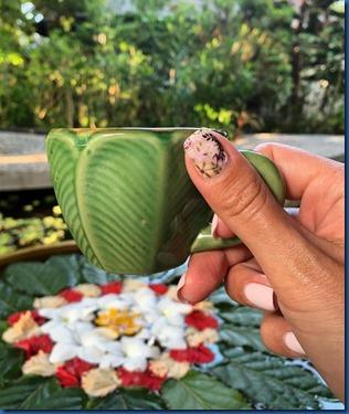 Sun Siyam Irufushi - palm crockery 2