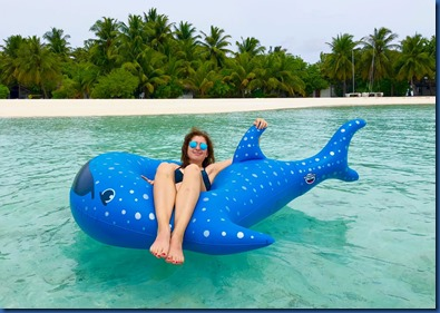 Rihiveli Dream - whale shark float