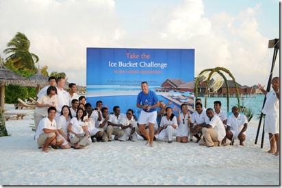 Anantara Dhigu - Ice Bucket Challenge 3