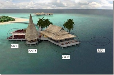 Anantara Kihavah Villas - Sky Salt Fire Sea