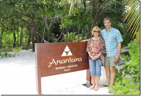 Anantara Kihavah tour