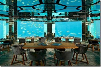 Anantara Kihavah underwater room