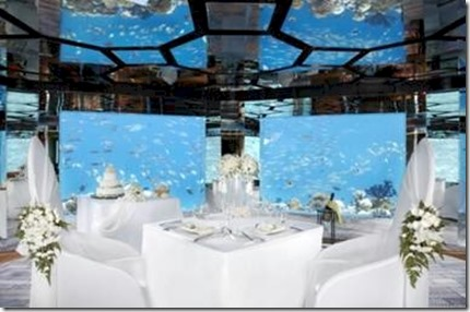 Anantara Kihavah underwater wedding