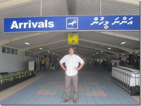 Arrival Male Maldives