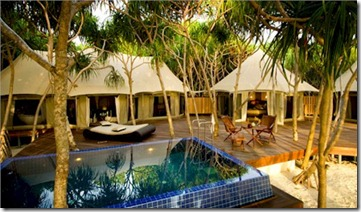 Banyan Tree Madivaru tented villas
