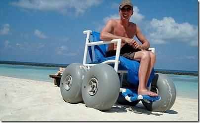Baros beach wheelchair