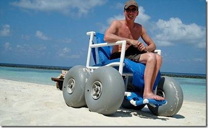 Baros beach wheelchair