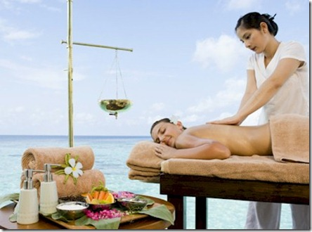 Centara Grand spa treatment