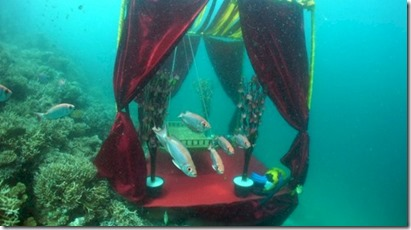 Centara Grand underwater wedding 1