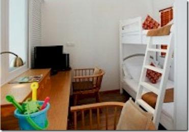 Centara Grand water villa children room