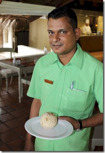 Chaaya Island Dhoniveli - wood apple serving