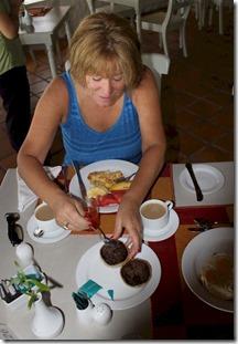 Chaaya Island Dhonveli - wood apple breakfast