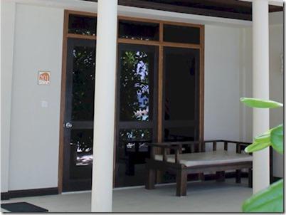 Chaaya Reef Ellaidhoo tinted glass villa windows