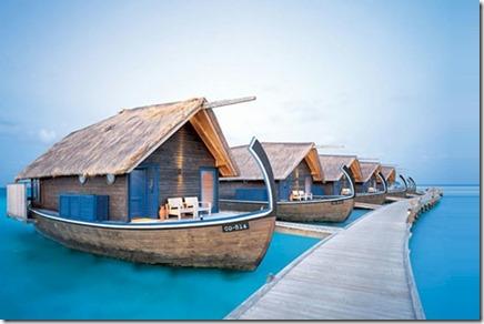 Cocoa Isand dhoni villas