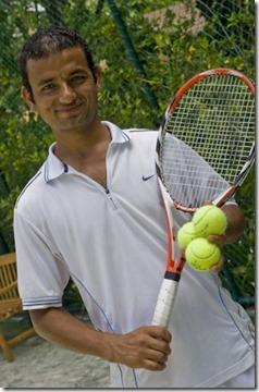 Conrad Rangali tennis coach