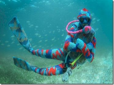 Dive knitwear