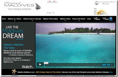 Dreamin of the Maldives videos