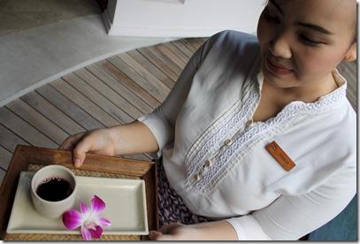Dusit Thani - floral drink