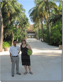 Four Seasons Landaa Giraavaru grand entrance