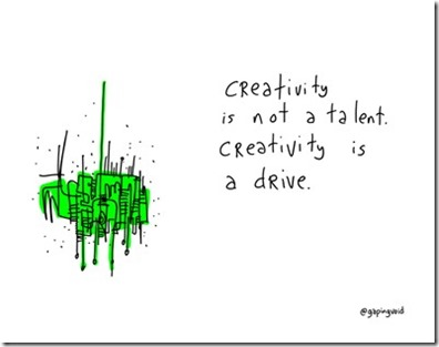 Gapingvoid Creativity Drive