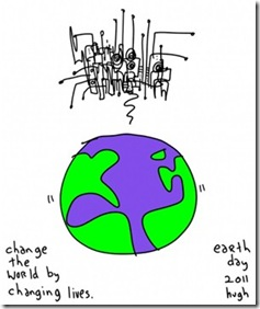 Gapingvoid Hugh MacLeod Earth Day 2011