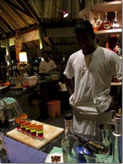 Gili Lankanfushi - Muthu cocktails