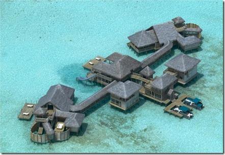 Gili Lankanfushi - Private Reserve aerial