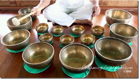 Gili Lankanfushi - Tibetan Singing Bowls