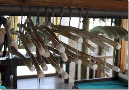 Gili Lankanfushi - coat hangers