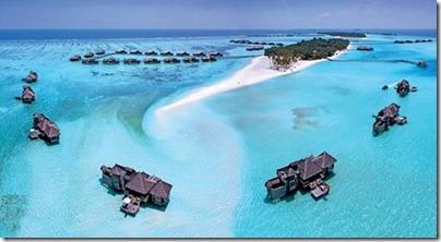 Gili Lankanfushi water villas