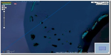 Google Map - Maldives eclipse