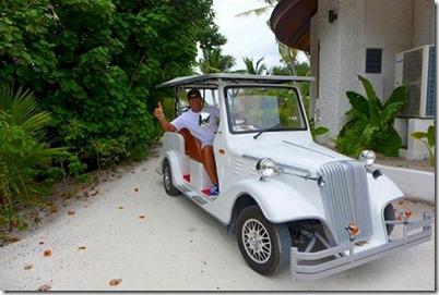 Hideaway Beach - buggy