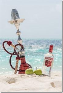 Hideaway Beach - vodka shisha