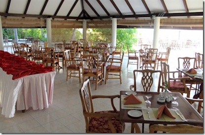 Holiday Island restaurant