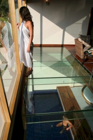 MEZZANINE Huvafenfushi You Dont Need An Ocean Under To Provide A Glass Floor View Of The Water Two Bedroom Beach Pavilion