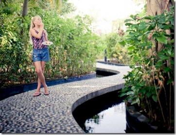 Iru Fushi - reflexology path