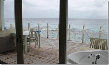 J Resort Alidhoo - water villa back