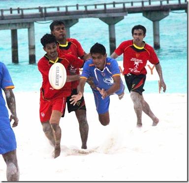 JA MAnafaru - Beach Rugby 2