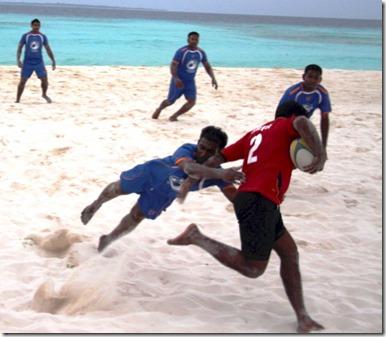JA Manafaru - beach rugby 4