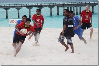 JA Manafaru - beach rugby 5