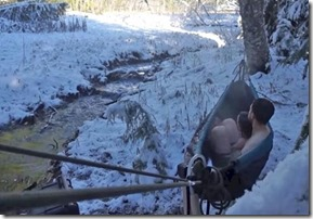 Jacuzzi hammock