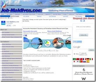 Job-Maldives