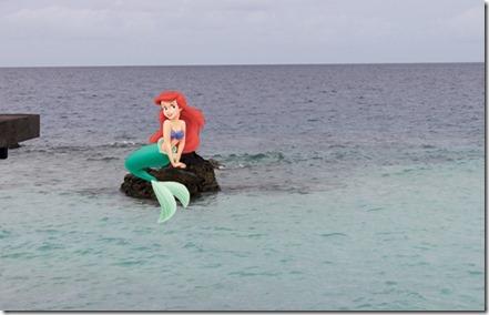 Jumeirah Dhevanafushi - mermaid photoshoot point