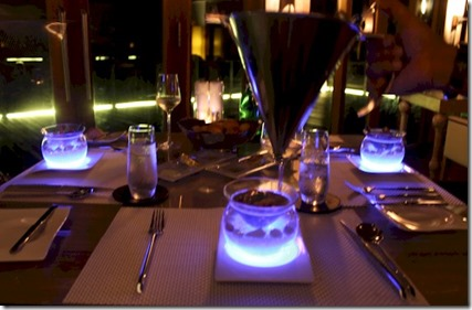 Jumeirah Vittaveli food lighting