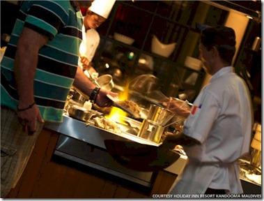 Kandooma chefs table 2