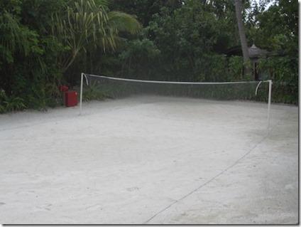 Kanuhura beach badminton