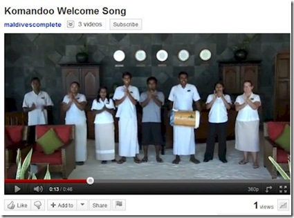 Komandoo welcome song