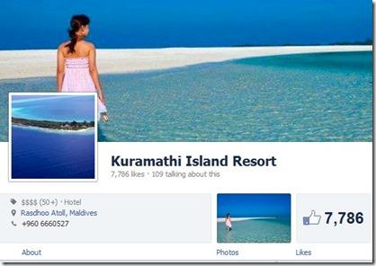 Kuramathi Facebook