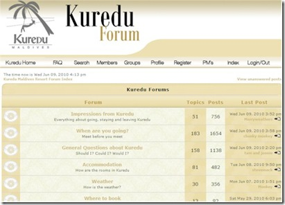 Best of the Maldives: Online Community – Kuredu | Maldives
