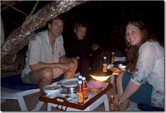 Kurumba beach dinner